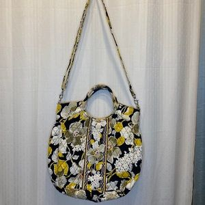 Vera Bradley DogWood convertible hobo bag